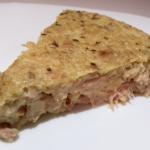 Receita de torta de atum low carb